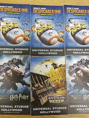 Universal Studios Hollywood Adult  Ticket (can be used for child entry also)