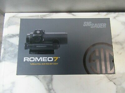 Sig Sauer Romeo 7 Red Dot Sight 1x30mm 3 MOA Dot Reticle - SOR71001