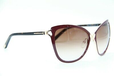 Authentic TOM FORD 9328-83F Sunglasses Purple Brown Gradient *NEW* 60mm