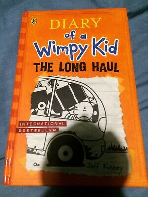 Diary Of A Wimpy Kid The Long Haul: Book 9 by Jeff Kinney Hardback Fiction