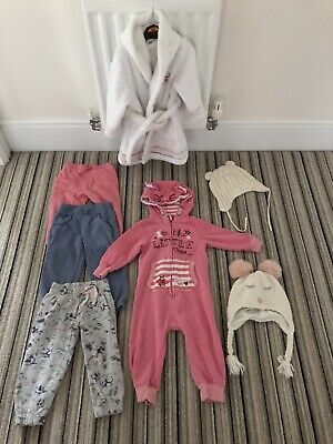 girls winter clothes bundle 18-24 months Joggers Dressing Gown Hats All In One