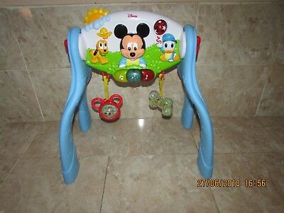 Disney Mickey Mouse Musical Activity Gym  -  Cot Toy