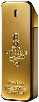 1 Million By Paco Rabanne 3.3 / 3.4 Oz EDT Spray New Cologne For Men Sealed