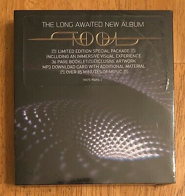 Tool Fear Inoculum cd variant 2 Sealed Priest up right - direct from Toolband.