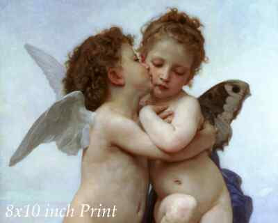 Cupid Arrows 8x10 Print 0595 Love on Lookout by William-Adolphe Bouguereau
