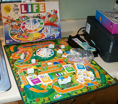 vintage 2000 GAME OF LIFE Board Game COMPLETE very nice