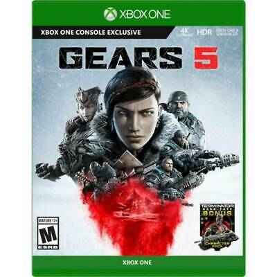 Gears 5 Standard Edition - Xbox One - New Sealed - (Newest Version)