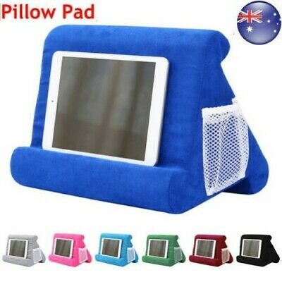 For iPad Foldable Laptop Tablet Pillow PC Holder Rest Reading Cushion Pad 2020 R