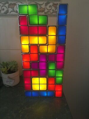 Tetris Game Style Stackable LED Light (13 Pieces)