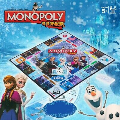 Monopoly Frozen II Board Games -Family Fun Christmas GiftsParty Birthday Group