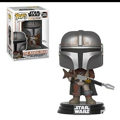 Funko Pop! The Mandalorian Star Wars #326 in Hand Series Perfect Condition