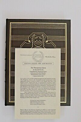 The Three Penny Opera - Easton Press English Book Collectors Ed Genuine Leather