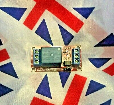 24V 1 Channel Relay Module Opto Isolated board for Arduino and MCU projects