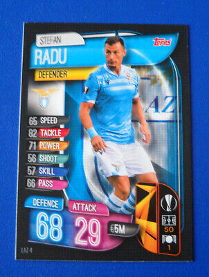 Topps Match Attax Champions Europa League 2019/20 2020 #Laz 4 - Radu - Lazio
