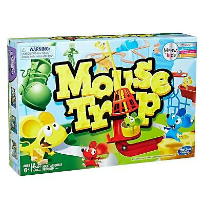 Hasbro Mouse Trap Board Game Classic Family Fun for Kids Ages 6+ 2-4 Players