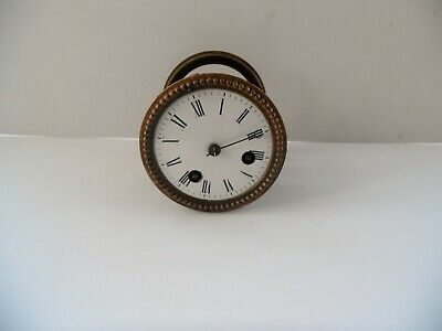 Antique French Clock Movement Circa 1890