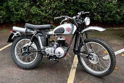 1954 DOT TDHX4P 197cc Two Stroke Trials Bike Only 2 know in the UK