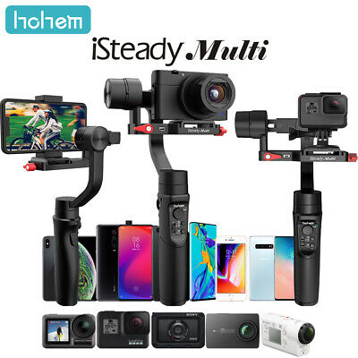 hohem iSteady Multi 3-Axis Handheld Gimbal Stabilizer for SONY Canon iPhone F3V9