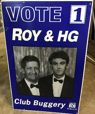 Roy & Hg Vote One