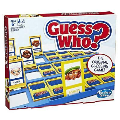 Hasbro Guess Who Preschool Board Game Kids Childrens Family Fun Toy 6 Years+