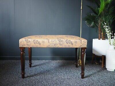 Antique Victorian Mahogany Stool, Footstool, Coffee Table UK DELIVERY AVAILABLE