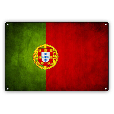 Portugal Reserved Parking Only Portuguese 12X18 Aluminum Metal Sign