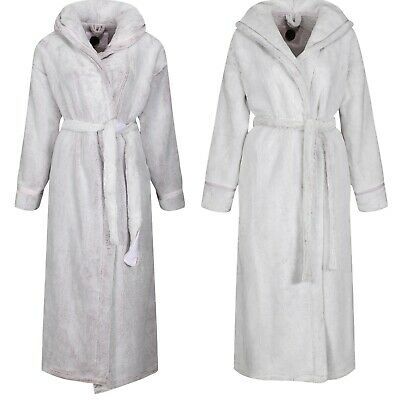 Marks & Spencer Rosie For Autograph New Luxury Soft Fleece Hooded Dressing Gown