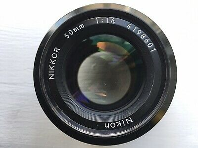Nikon F Mount Nikkor AI 50mm f1.4 Lens Clear Good Condition Example Photos