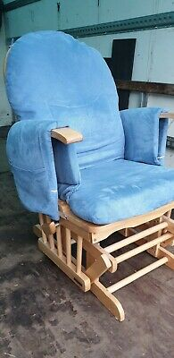 Habebe Recliner Rocking Glider Chair  WASHABLE COVERS