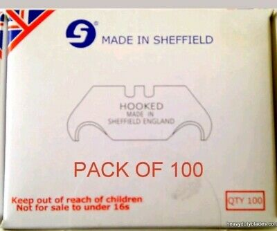100 Hook Fits Dolphin Delphin Trimming Tool Made In Sheffield. Ind96A.