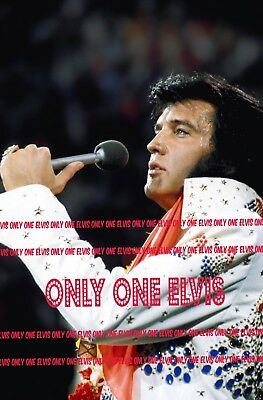 """1973 ELVIS PRESLEY on TELEVISION /""""ALOHA FROM HAWAII/"""" CONCERT Photo #4"""