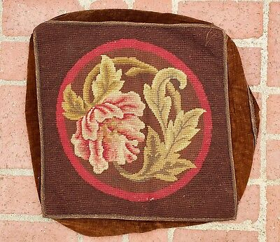 An Antique Needlepoint Tapestry Upholstery for Pillow