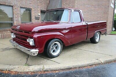 1963 Ford F-100 - V8 - PS + PDB 1963 Ford F100 Pickup street rod 289 mustang 1961 1962 1964 1965 1966