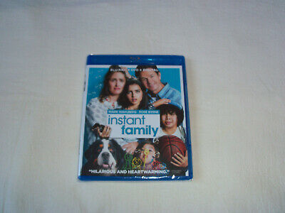 Instant Family (Blu-ray + DVD + Digital HD, 2019, Brand New)