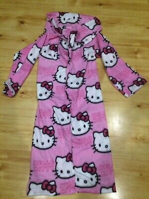 Hello Kitty Fleece Blanket / Dressing Gown Pink Girls