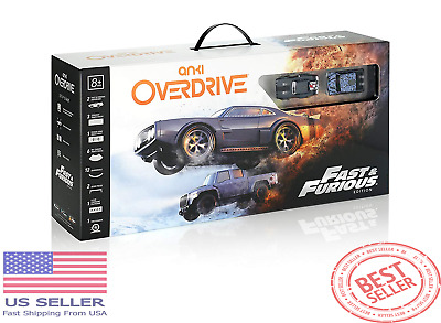 NEW - Anki Overdrive Remote Control Car Kit - Fast & Furious Edition Great Gift