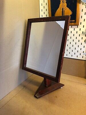 Vintage Shed Work Homemade Mirror Charming Nieve Style 1930s 1940s