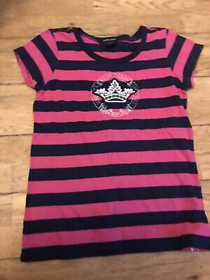 Ralph Lauren Girls T Shrt Age 8 9 10 Years Vgc