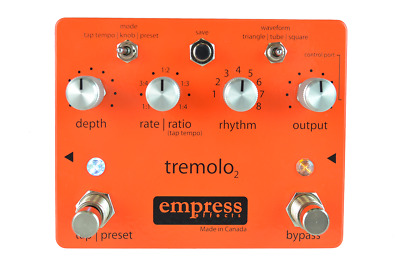 Empress Effects Tap Tremolo 2 DEMO