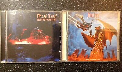 Meat Loaf - 2CD Bundle Hits Out Of Hell I & II + FOC Single I'll Do Anything For