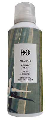 R+Co Aircraft Pomade Mousse 165ml 5.6 OZ, New Clearance Sale