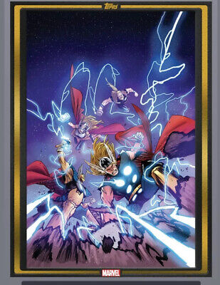Topps Marvel Collect Comic Book Day Cover Gold Thor: The Worthy #1 -DIGITAL CARD