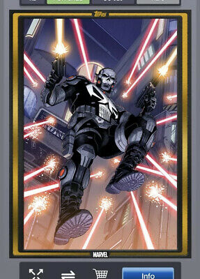 Topps Marvel Collect Comic Book Day Cover Gold Punisher 2099 #1 - DIGITAL CARD