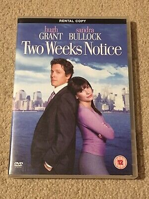 Two Weeks Notice Dvd