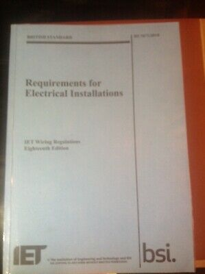IET 18th edition wiring regulations BS7671:2018