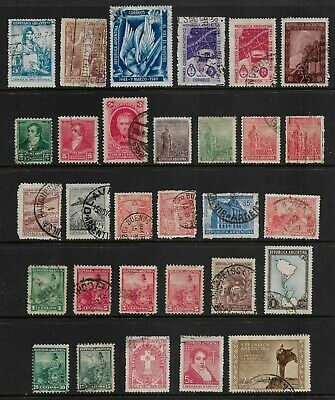 ARGENTINA mixed collection No.25, incl early, used