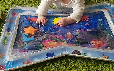 Tummy Time Inflatable Water Sensory Mat For Baby
