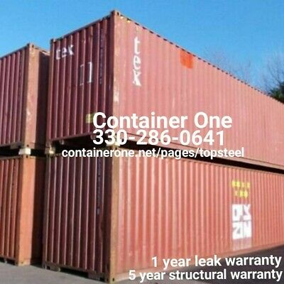 20 And 40 Steel Conex / Storage / Shipping Containers In Dallas TX