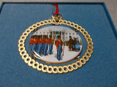 "1994 White House Historical Association Christmas Ornament ""Marine Band"""