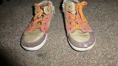 Next Boys Size 12 Uk Brown Tan Orange Chukka Boots Size Uk 12 - Used With Scuffs